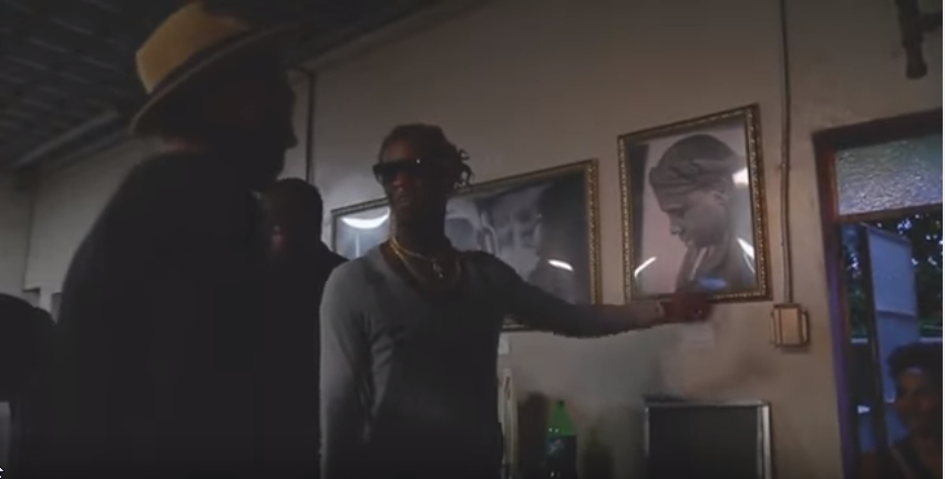 Look!  Young Thug in boy clothes admiring a man.  NOT DIFFERENT.