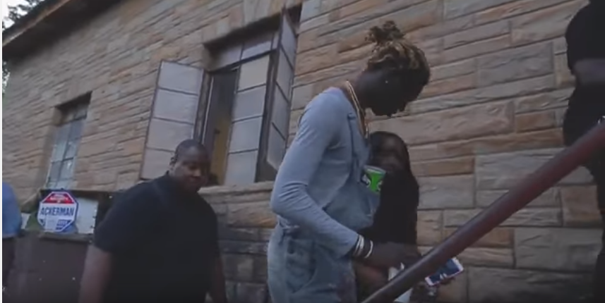 Look, Young Thug in Boy Clothes.  Different!